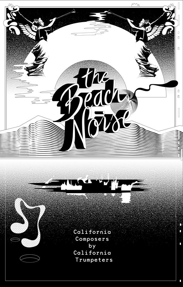 Carillon Presents: The Beach Noise - Poster by Vivian Naranjo