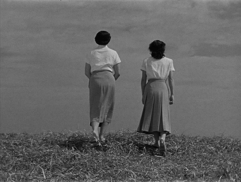 Kuniko Miyake and Setsuko Hara in  Early Summer  (1951).