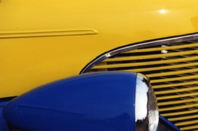 Street Rod Yellow & Blue