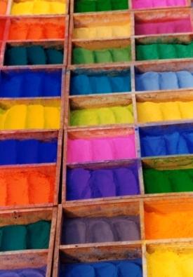 Nepal Dye Boxes