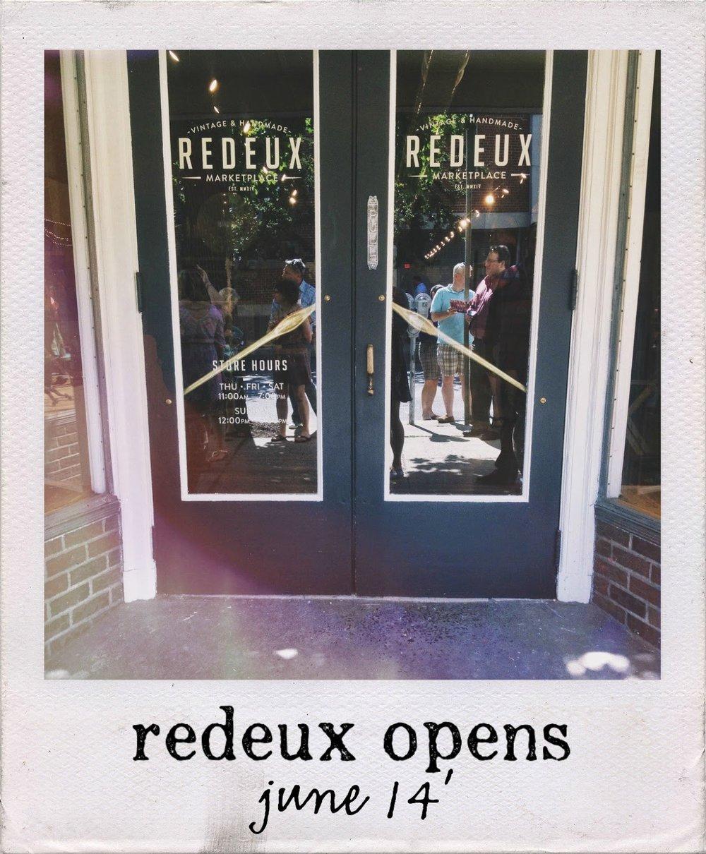 http://lovemrsmack.blogspot.com/2014/06/redeux-opening.html