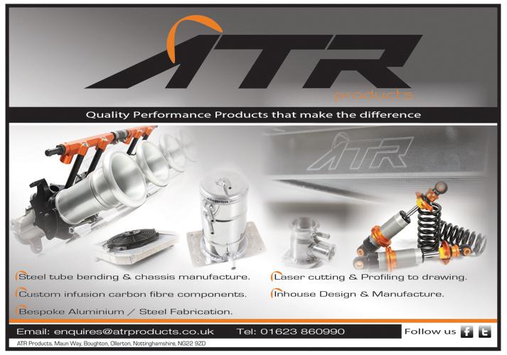 ATR Products: Logo Design & Magazine Adverts.