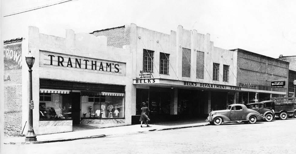 3. Belk's & Trantham's Department Stores