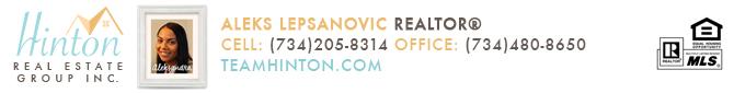 Aleksandra Lepsanovic Realtor for Team Hinton Real Estate Group