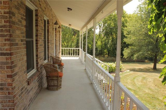 Porch - 62800 HICKORY HILL Court, Lyon Twp 48178