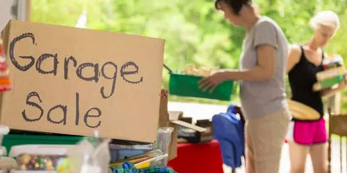 Garage Sale - Hinton Real Estate Group