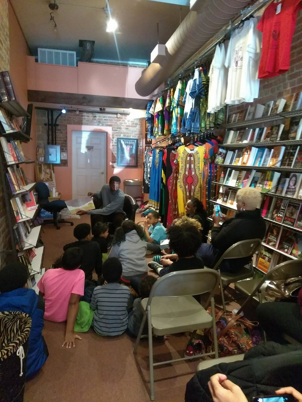 photo curtersoy of black stone bookstore