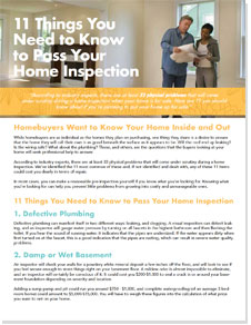 Home Inspections - Hinton Real Estate Group