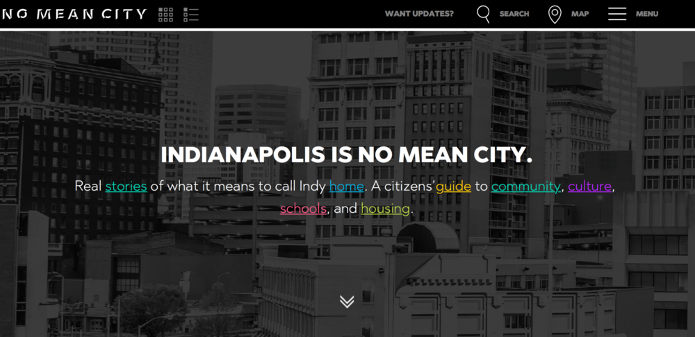 Indianapolis is no mean city - a general guide to what's what and where's where.