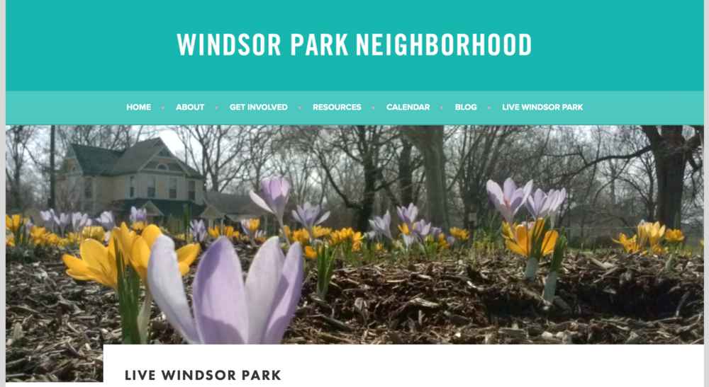 Windsor Park Neighborhood - for those of you making your new home on 11th Street!