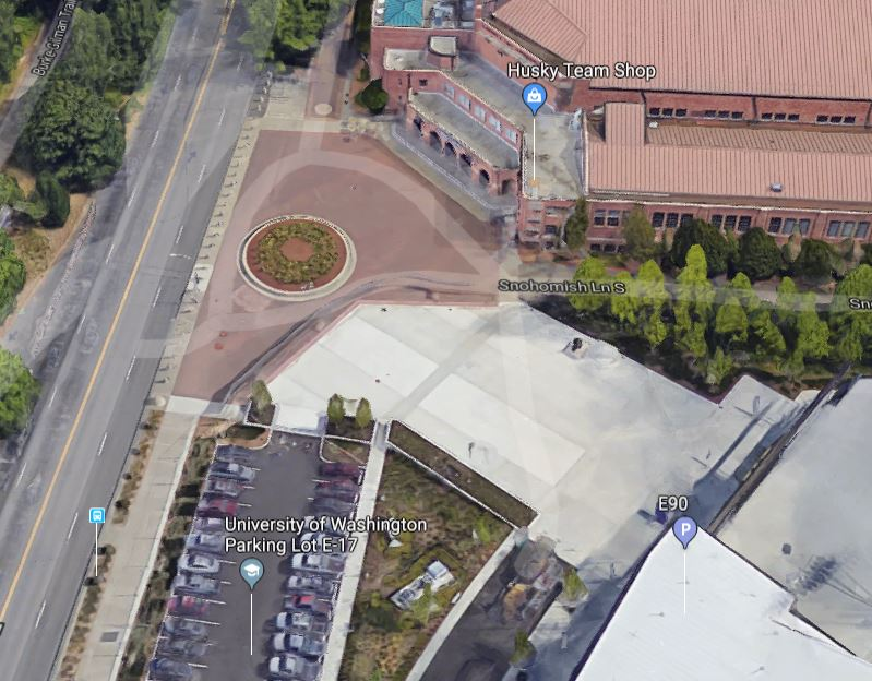 Birds Eye View: NW Plaza -