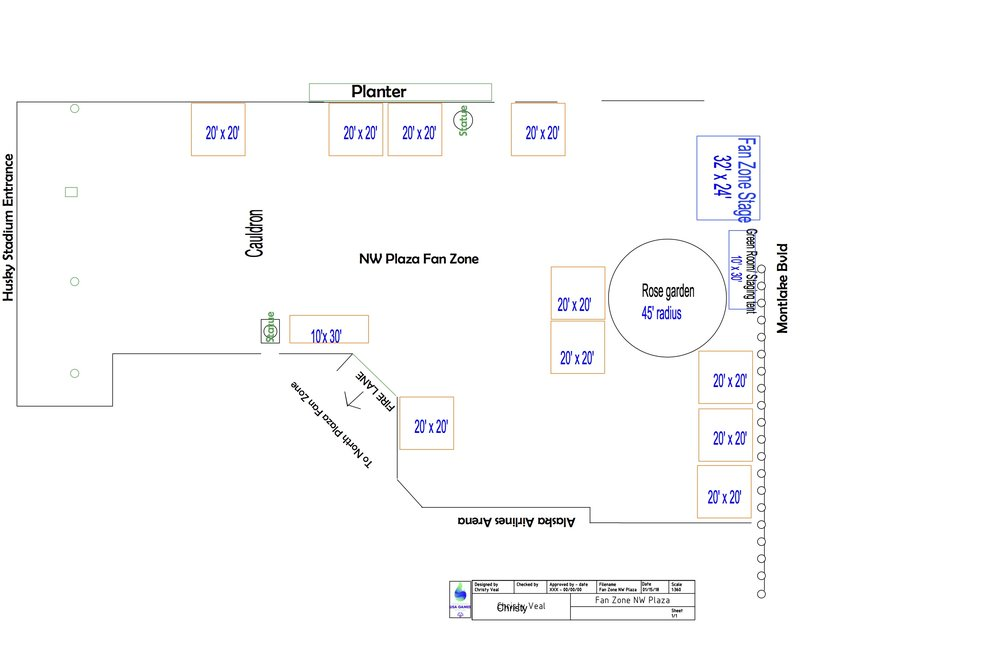 Layout: NW Plaza -
