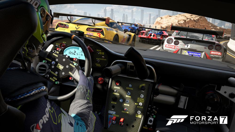 Forza 7 Heat Of The Race 4K