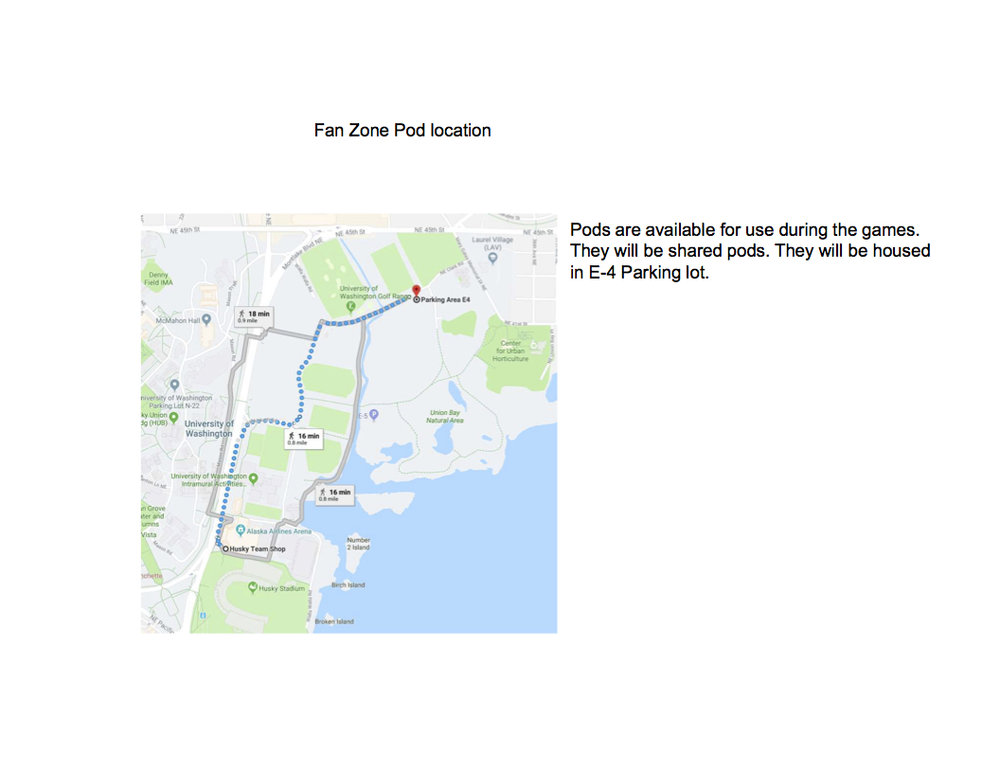 Pod Storage Location -