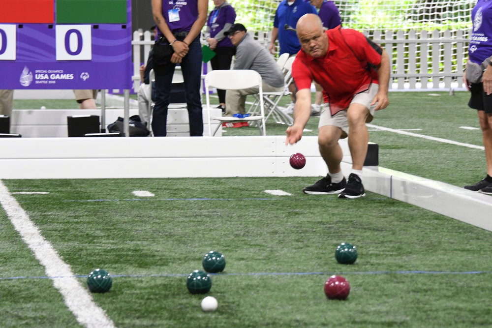 bocce special olympics usa games