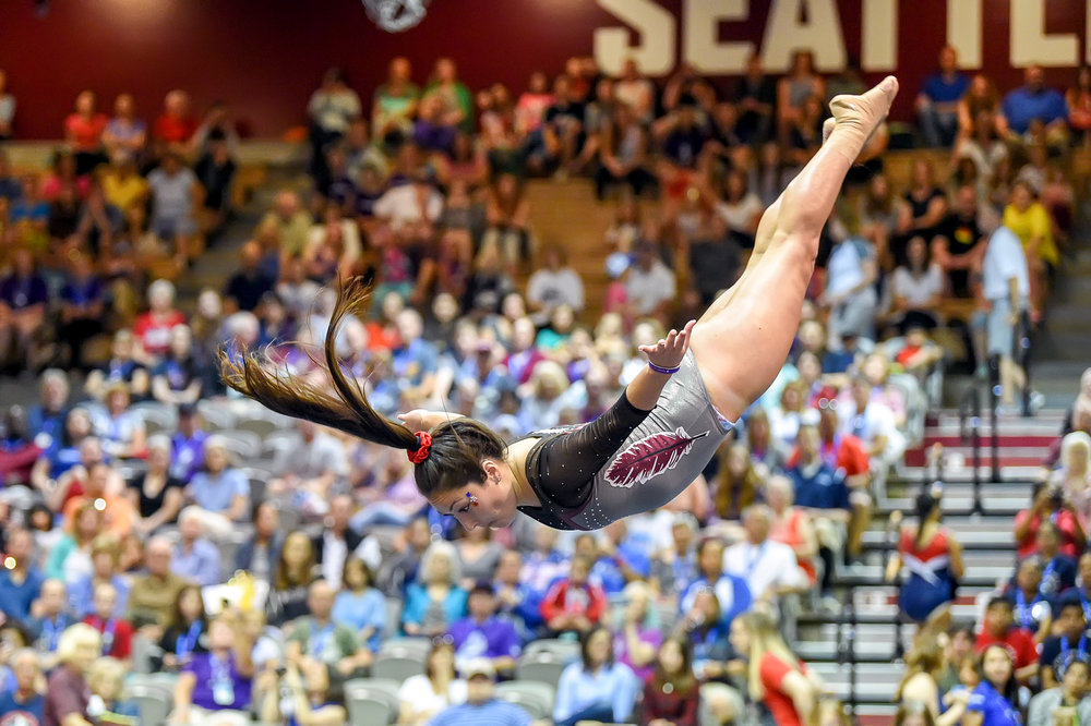 2018 USA Special Olympics Games: Gymnastics at the Royal Brougham Pavilion, on the campus of Seattle Pacific University.