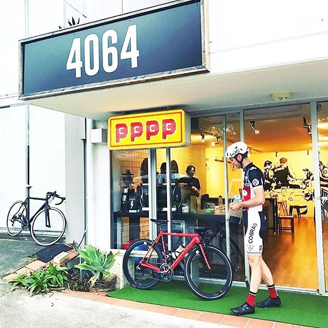 So excited for our friends @thepedalercyclery who have opened the 4064. Pouring @fonzieabbott brews. Brisbane cyclists this is the place to brew☕️🚴🏼☕️🚴🏻♀️ . . . @bikefriendlycafes @jpedaler @callumhov #thebaristascup #coffeeshop #baristadaily #baristalife #fonzieabbott #fonzieabbottespresso #sweetfa #milton #specialtycoffee #brisbanecoffee #brisbanecafe #brisbaneanyday #thetrendybarista #baristalove #melbourne #brisbanecyclist #brisbanecycling #brew #modellyf #model