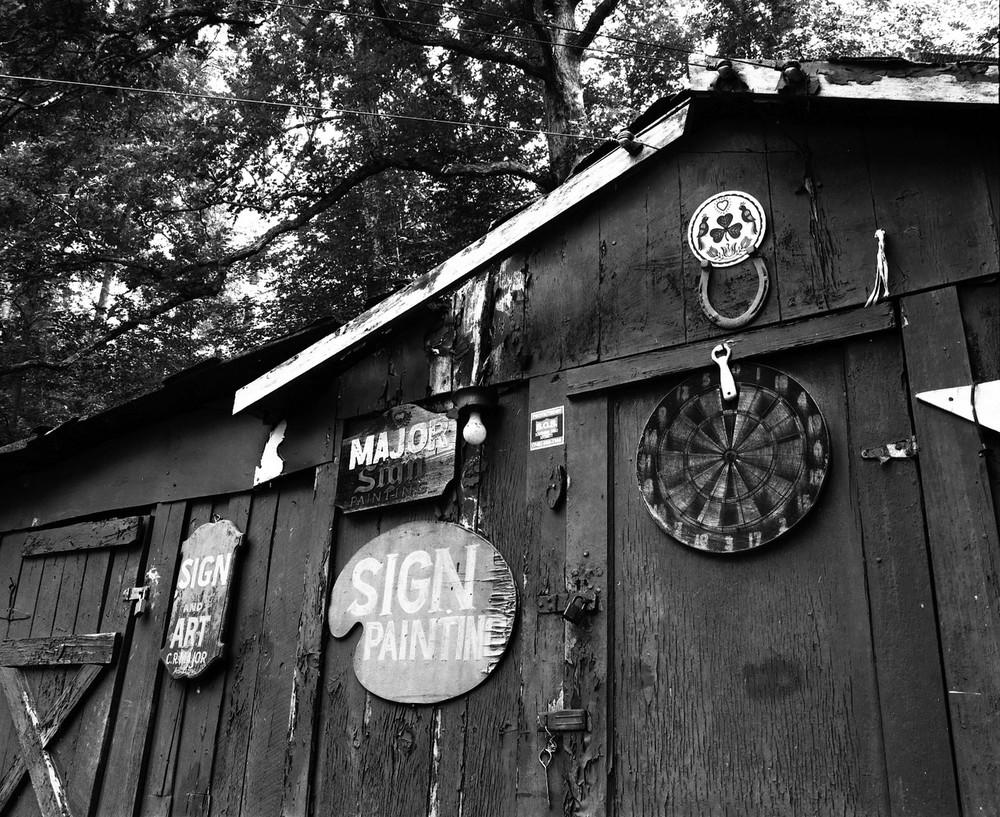 Grandpa Major's Barn. Portsmouth, OH. 2013.
