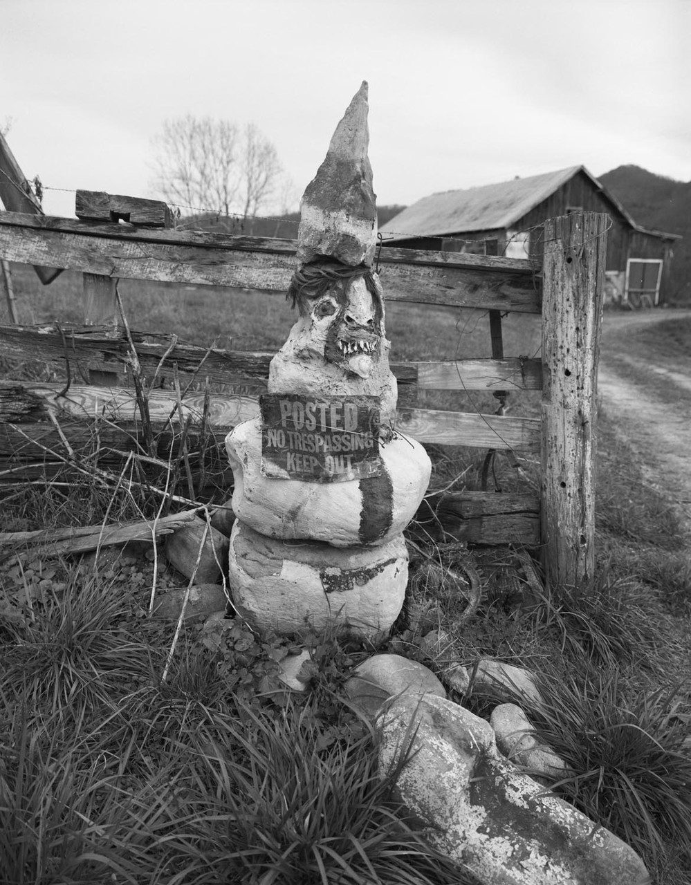 Troll, Dungannon, VA. 2015. Silver Gelatin Print.