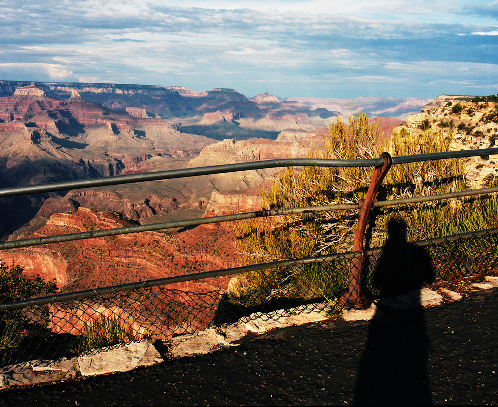 Grand Canyon Self Portrait. 2014. C-Print.