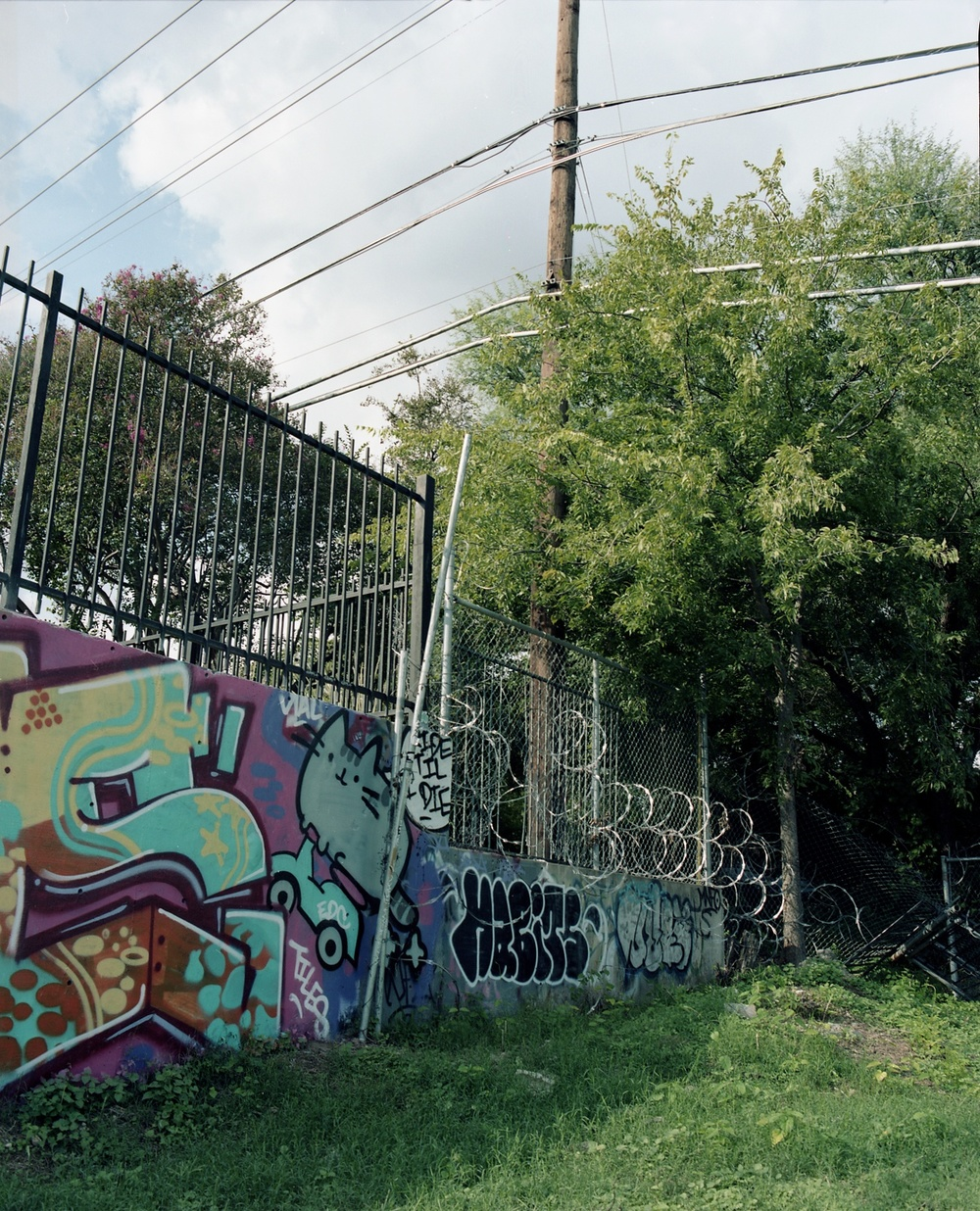 Castle Hill Graffiti, Austin, TX. 2013. C-Print.