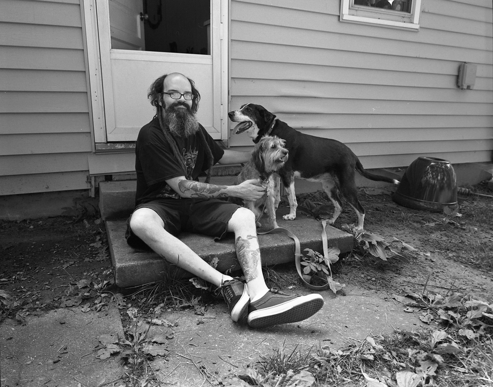 Todd, Johnson City, TN. 2015. Silver Gelatin Print.