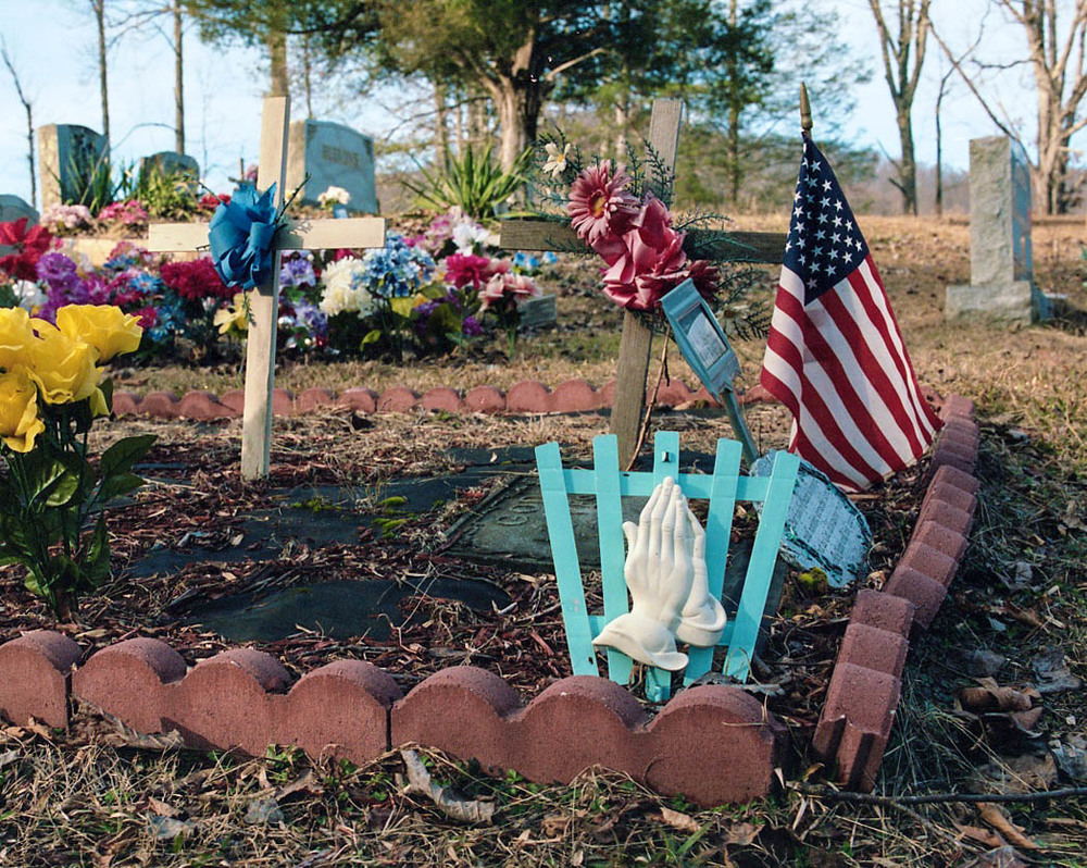 Bumpus Cove Cemetery, Erwin, TN. 2013. C-Print.