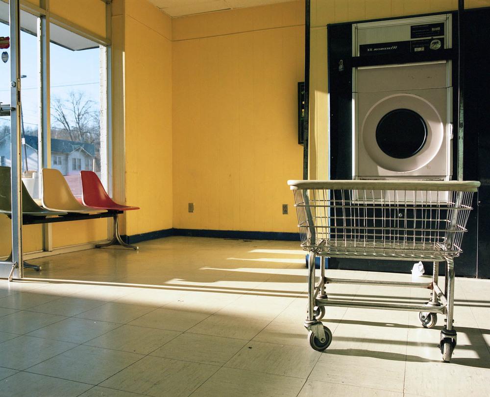 Laundry, Johnson City, TN. 2014. C-Print.