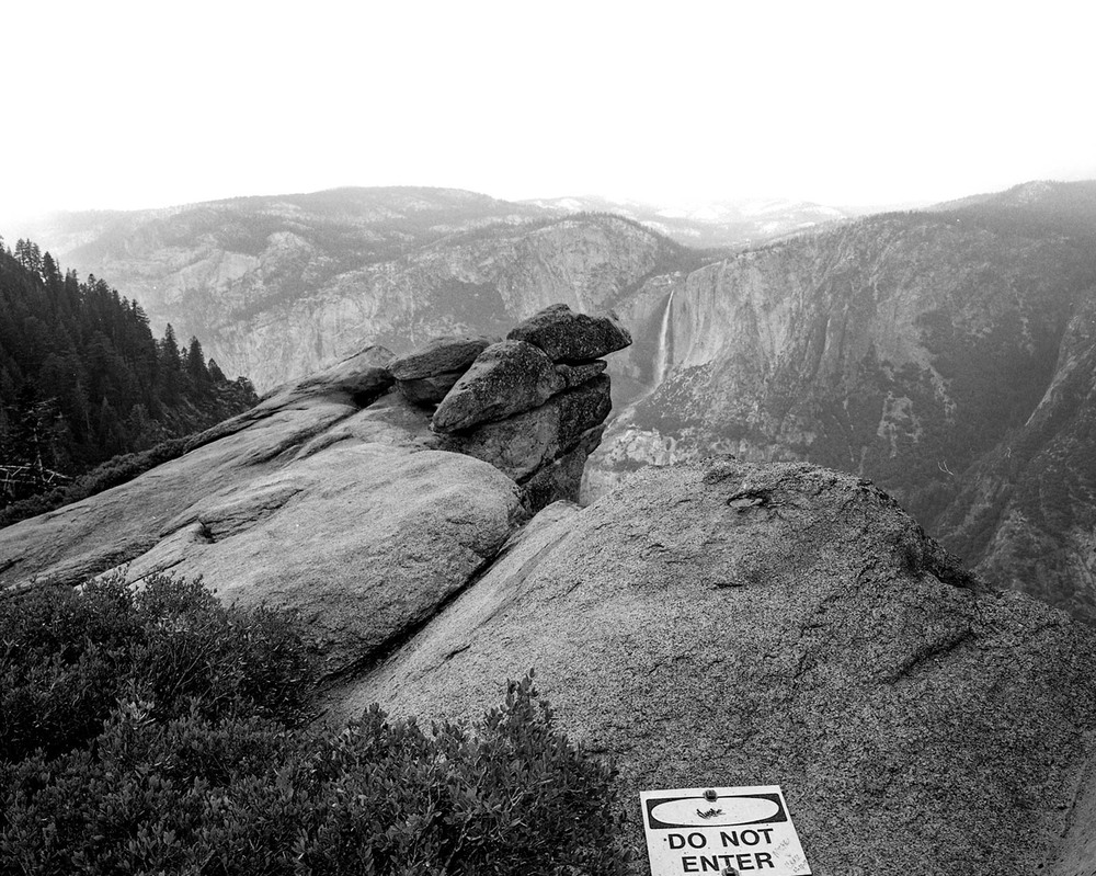 Boundaries, Yosemite National Park. 2015. Silver Gelatin Print.