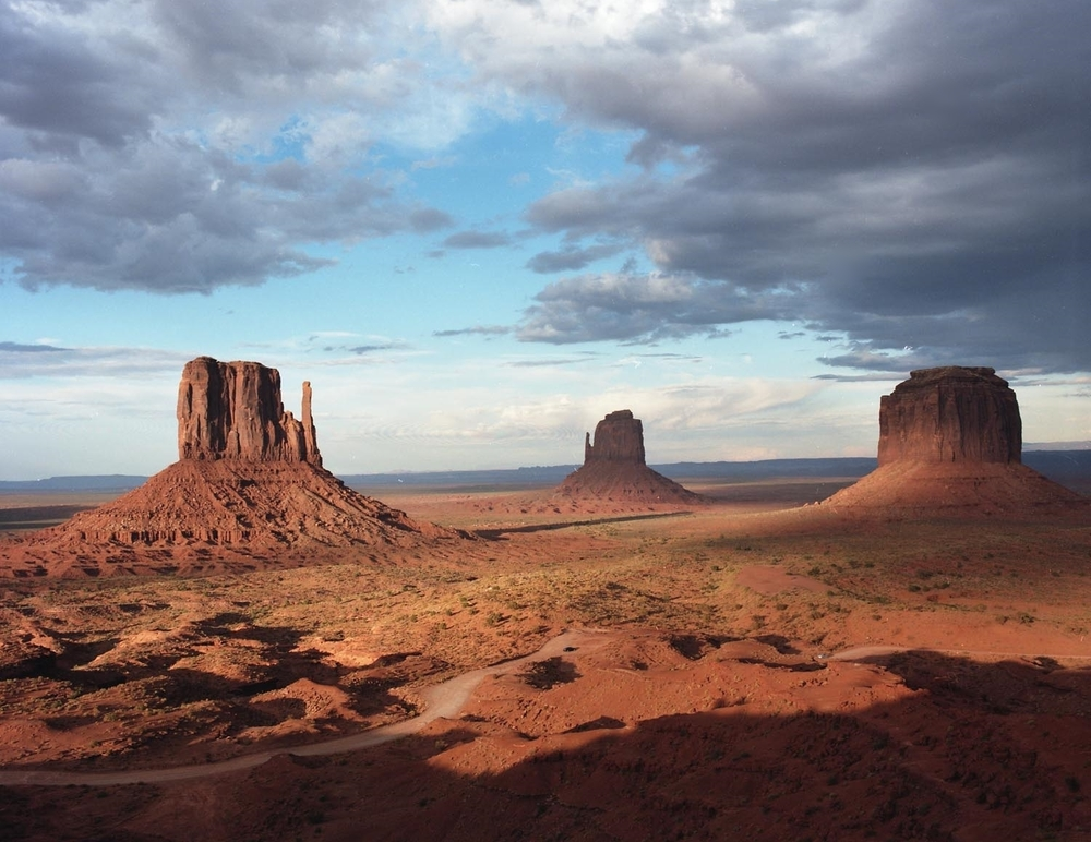 John Wayne Dream, Monument Valley Navajo Tribal Park. 2014. C-Print.