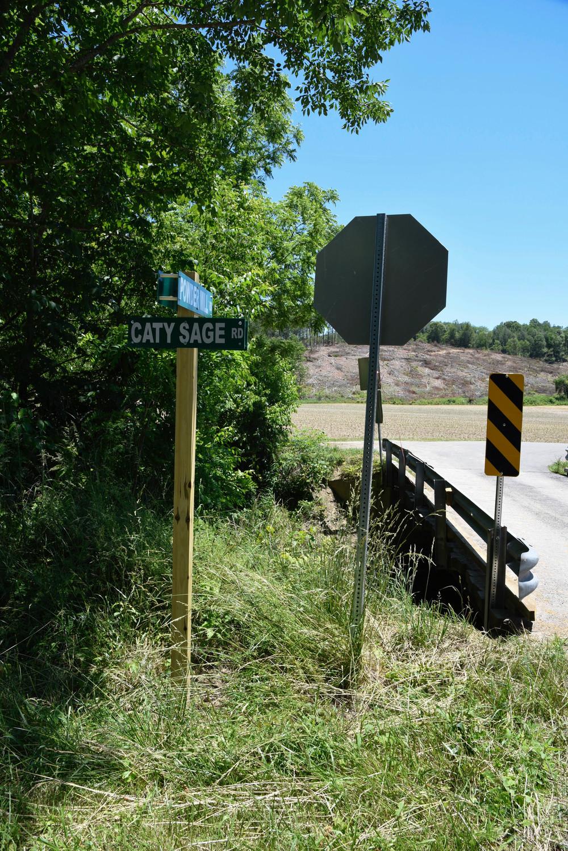 Caty Sage Road. Elk Creek, VA. Grayson County.