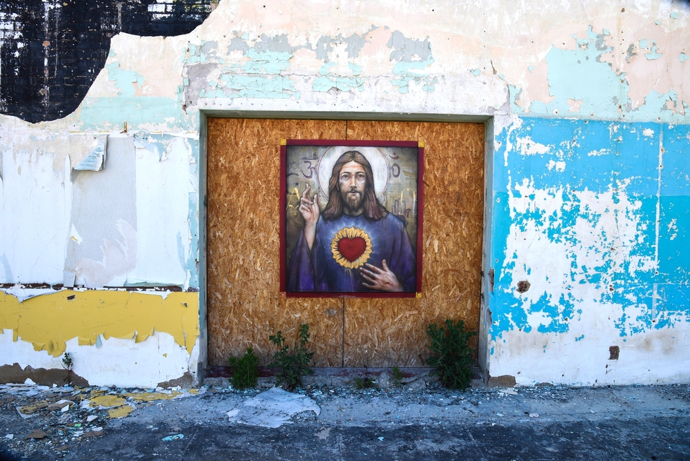 Universal Christ, Princeton, West Virginia. 2016. Digital Image.