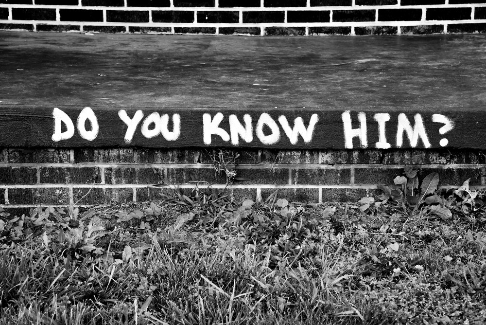 Do You Know Him? Johnson City, TN. 2016.