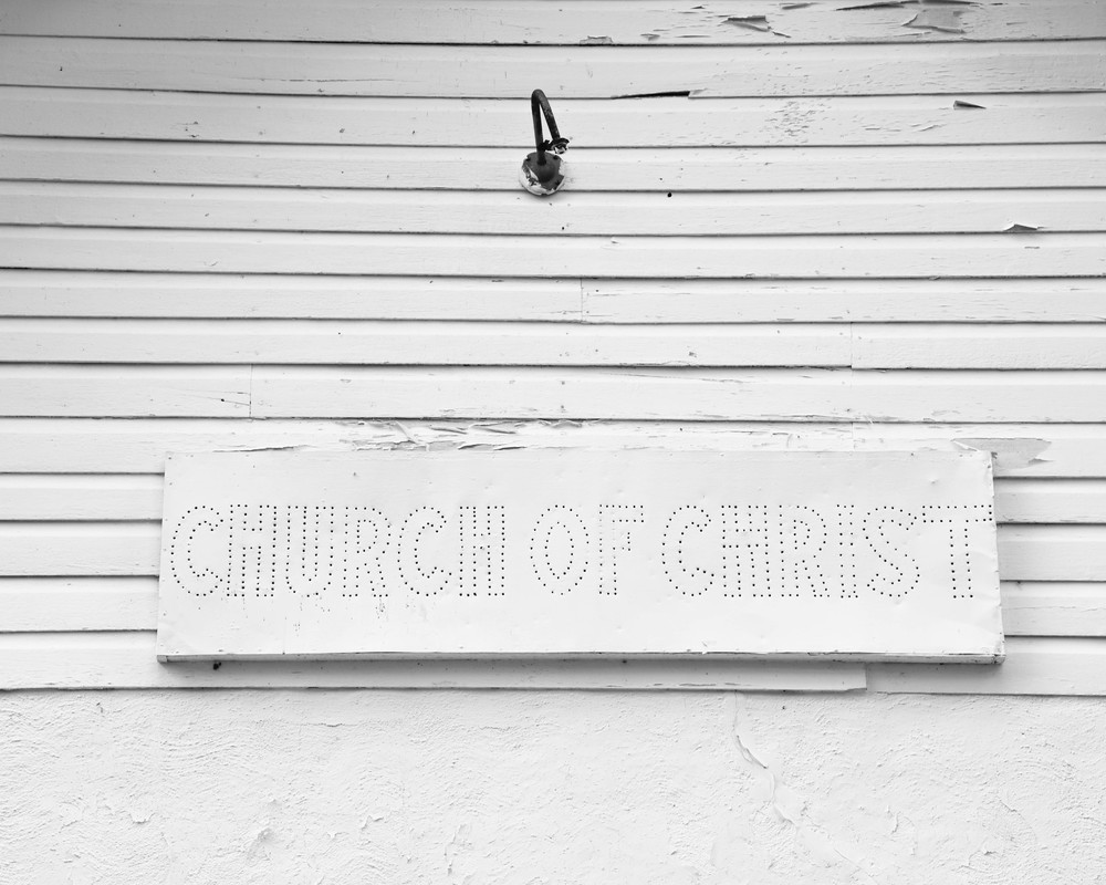 Church of Christ, Roan Mountain, TN. 2016. Digital Image.