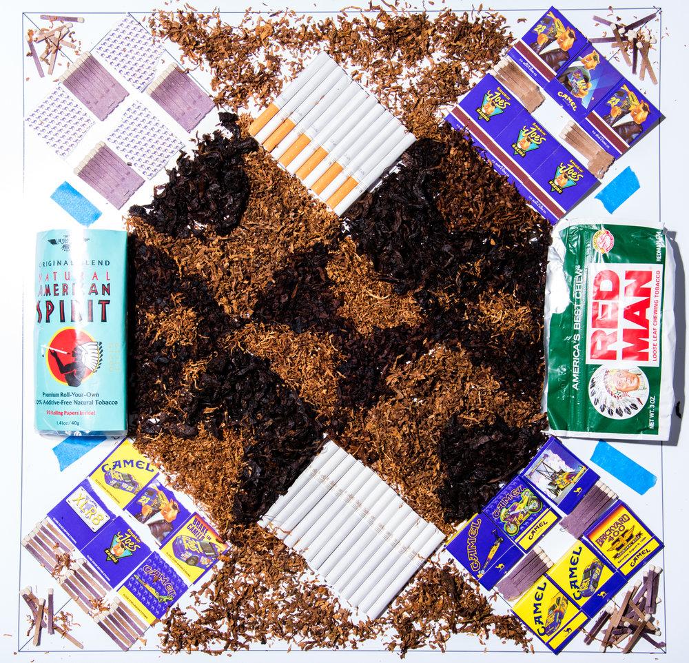 Tobacco Quilt Block. 2016. Digital Image.