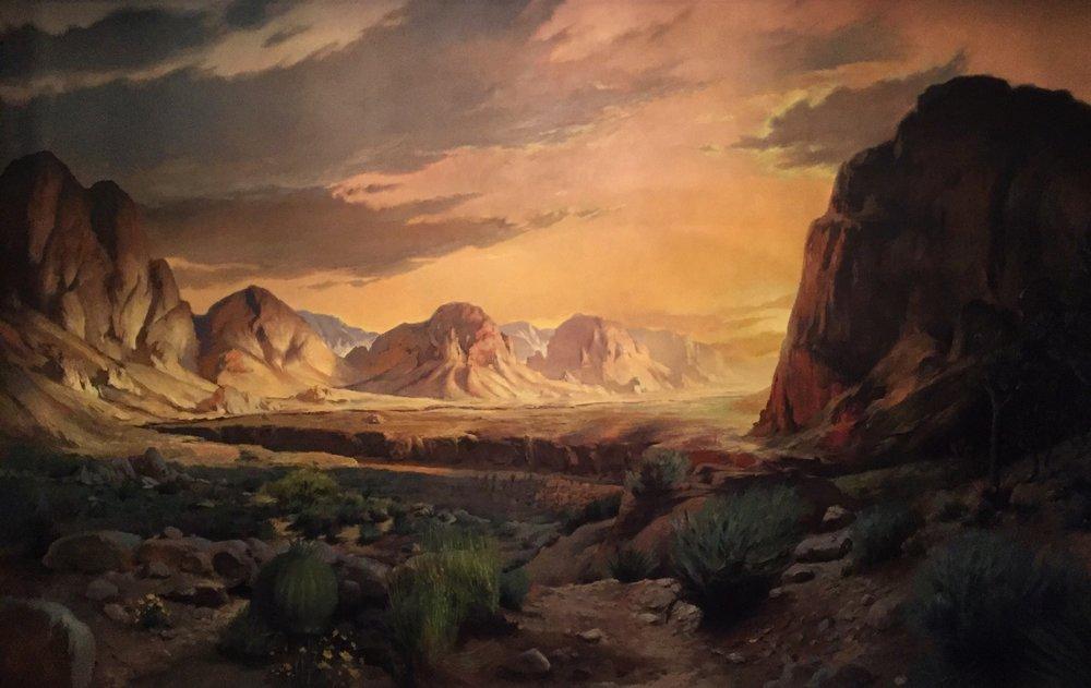 Sunset in the Mojave desert.jpg