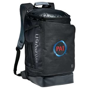 "The TSA-friendly   elleven™ Pack-Flat 17"" Computer Backpack   features and RFID pocket to keep your information safe."