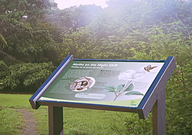Botanical Garden Interpretive Design