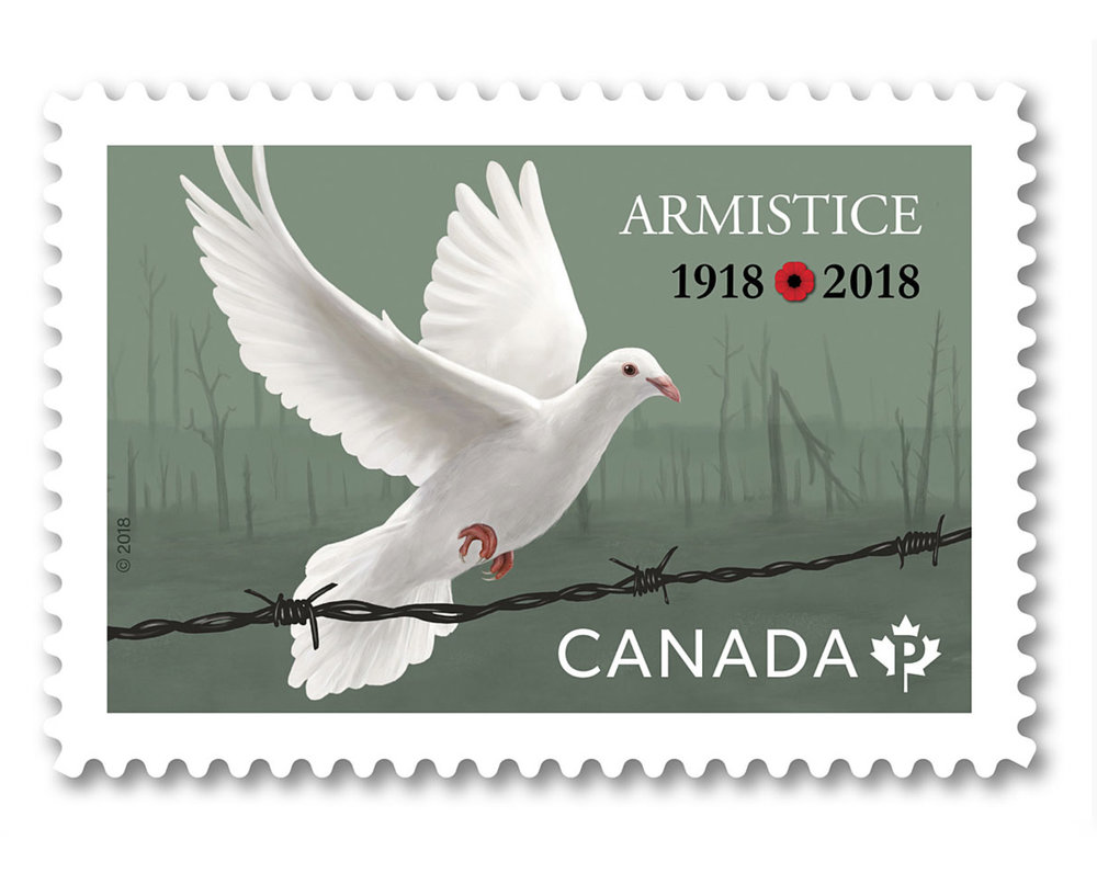 Canada Post Armistice Stamp