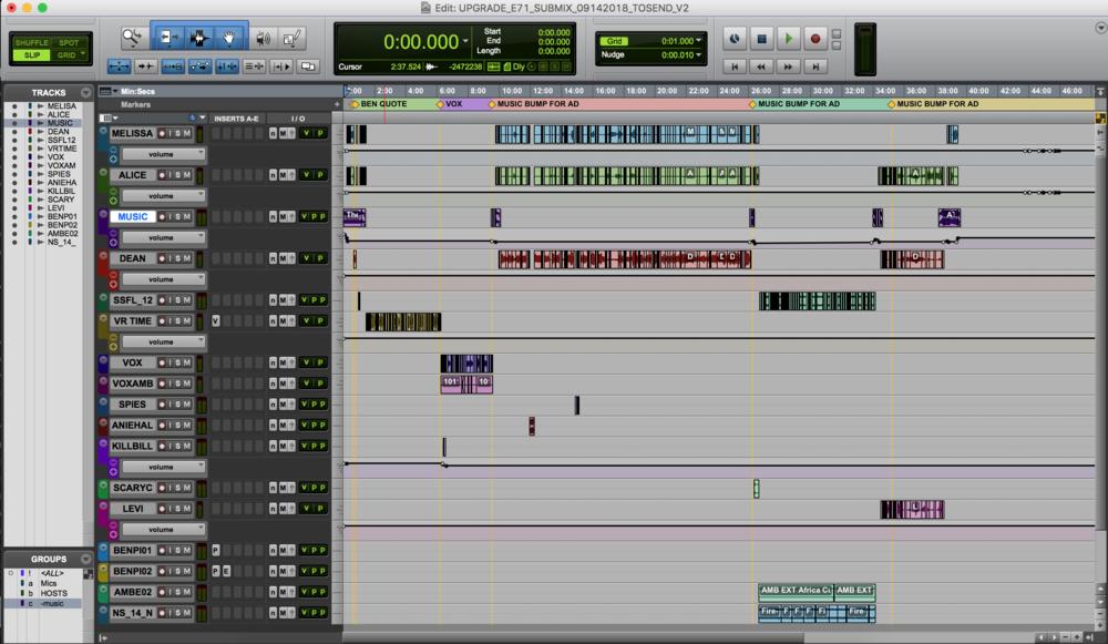 Editing the Upgrade  Screenshot: Levi Sharpe