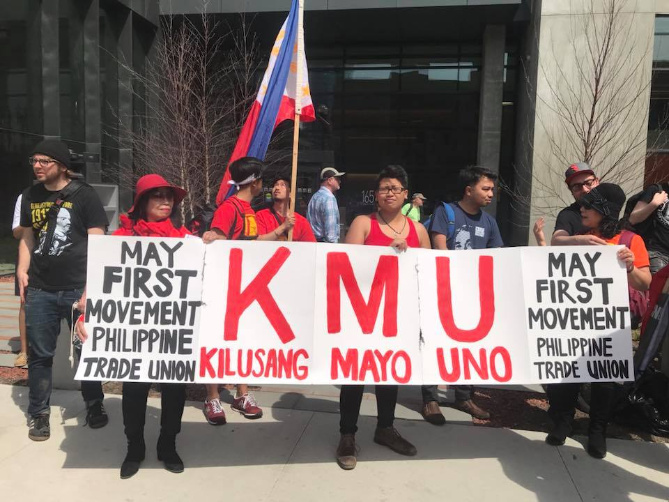 KILUSANG MAYO UNO, OR MAY FIRST LABOR MOVEMENT (KMU)