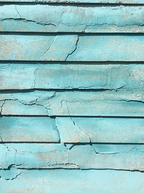Painted background - obsessed with turquoise!!