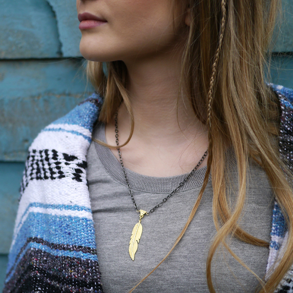 Feathered Warrior Necklace £40