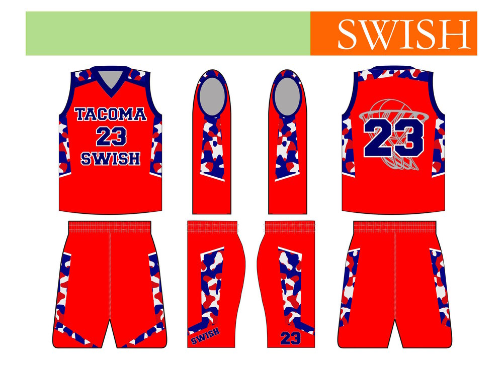 Tacoma Swish Youth Basketball (away) - Tacoma, WA