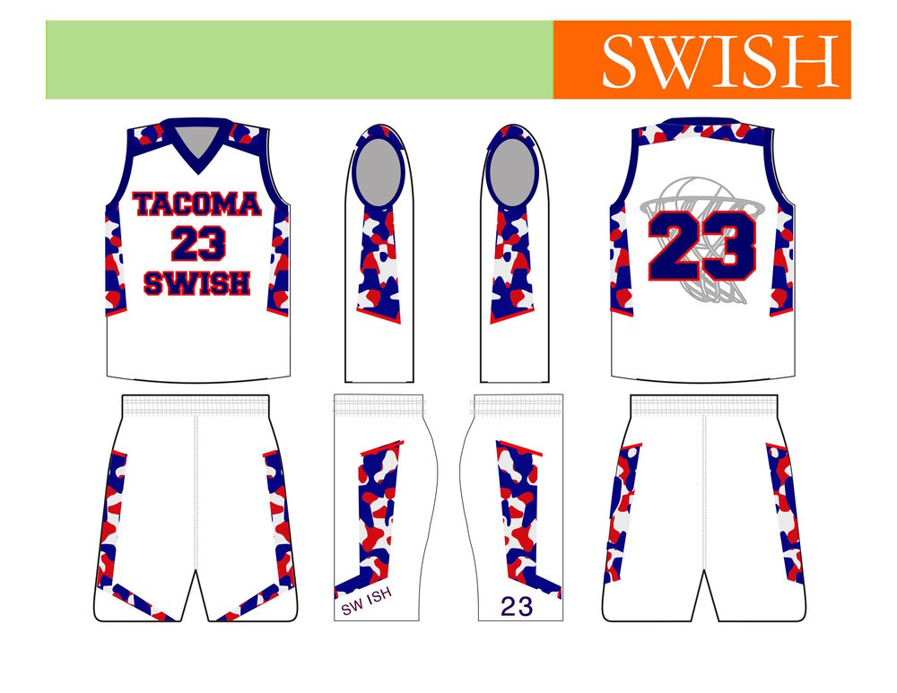 Tacoma Swish Youth Basketball (home) - Tacoma, WA
