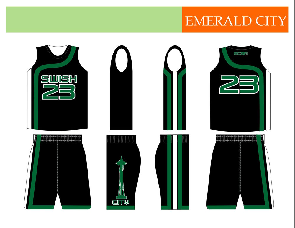Emerald City Select Basketball (away) - Seattle, WA