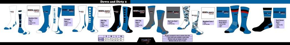 Down & Dirty - Air Force Blue