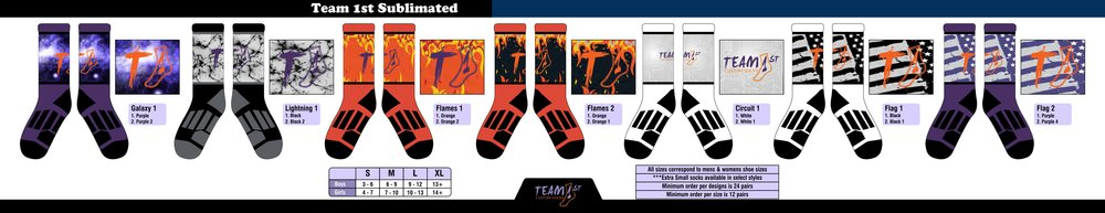 Team 1st (Sublimated)