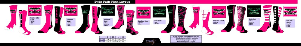 TWIN FALLS MIDDLE SCHOL (PINK DESIGNS)