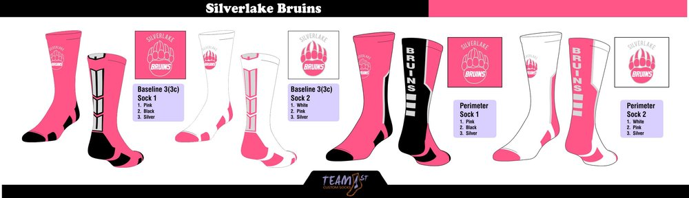 SILVERLAKE BRUINS PINK LAYOUT